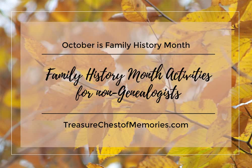 Family History Month Graphic