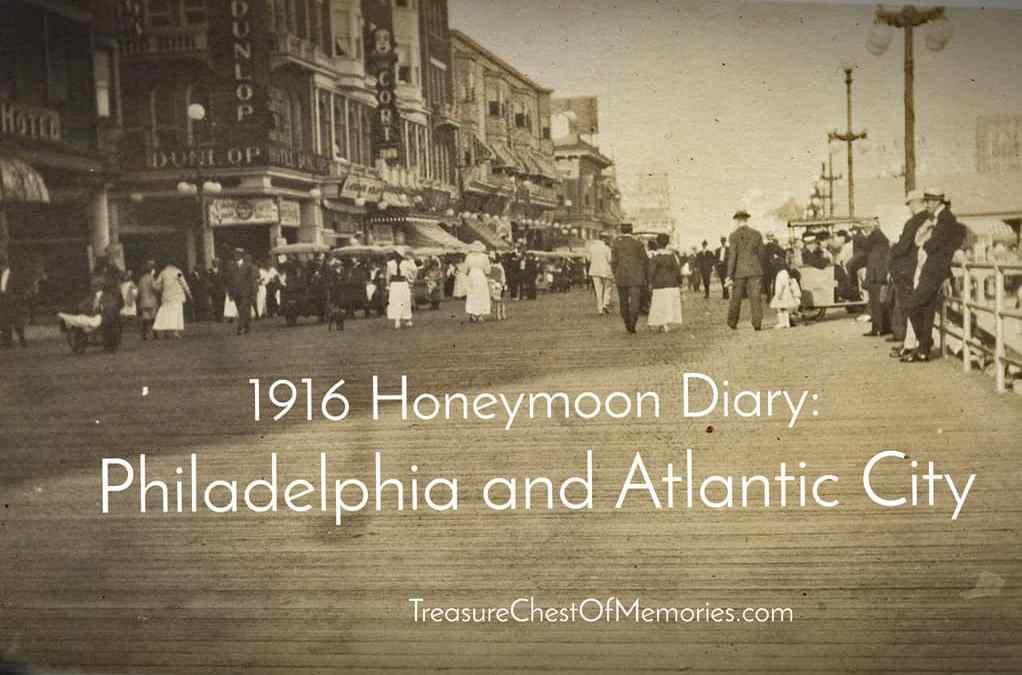 Honeymoon Diary Part 3:  Philadelphia and Atlantic City
