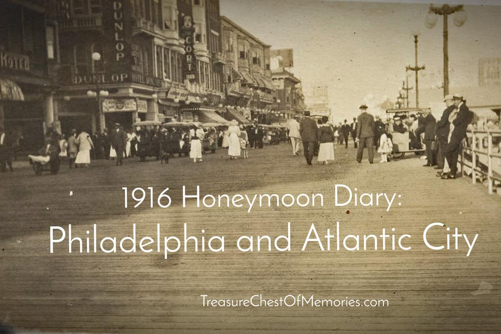 Atlantic City shot from the Postcard album.