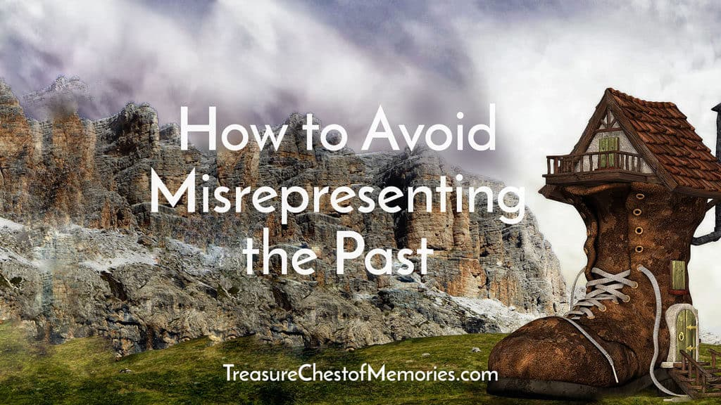 How to avoid misrepresenting the past
