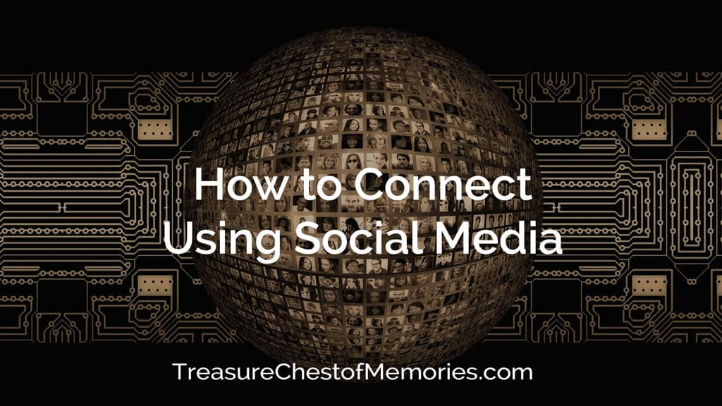 Cover image of how to use social media to connect with circuit board and photos