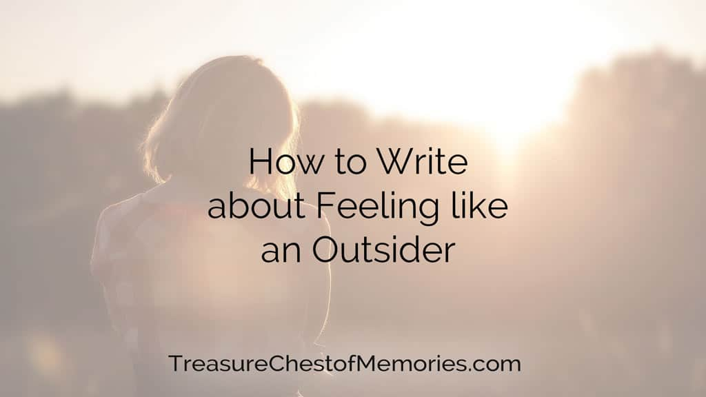 Cover image for writing about feeling like an outsider with a person alone