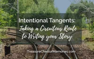 Intentional Tangents: Taking a Circuitous Route to Writing your Story
