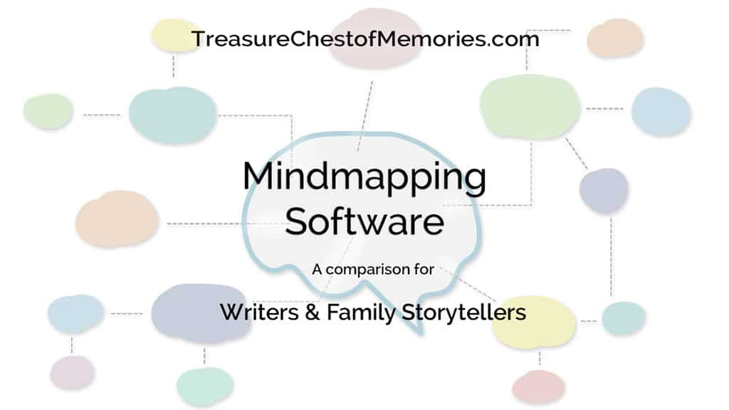 Mindmapping Software for Writers and family SToryteller