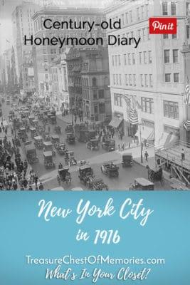 New York City in 1916