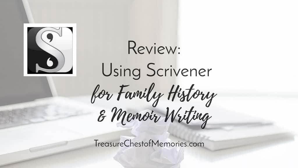Reveiw Using Scrivener Graphic