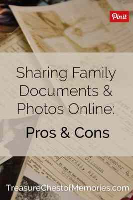 Scanned Family Documents online pinnable image