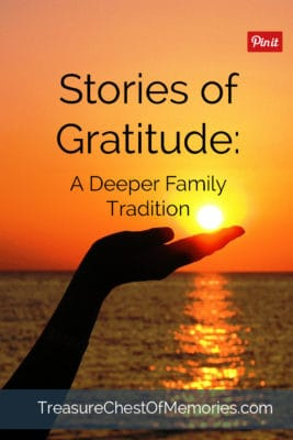 Stories of Gratitude pinnable graphic