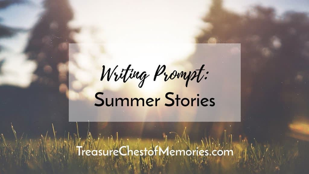 Summer Stories Writing Prompt Graphic