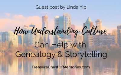 How Understanding Culture Can Help with Genealogy and Storytelling