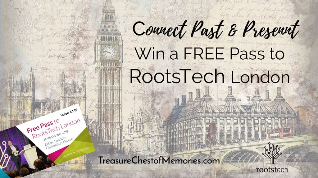 Win a Free Pass to RootsTech London