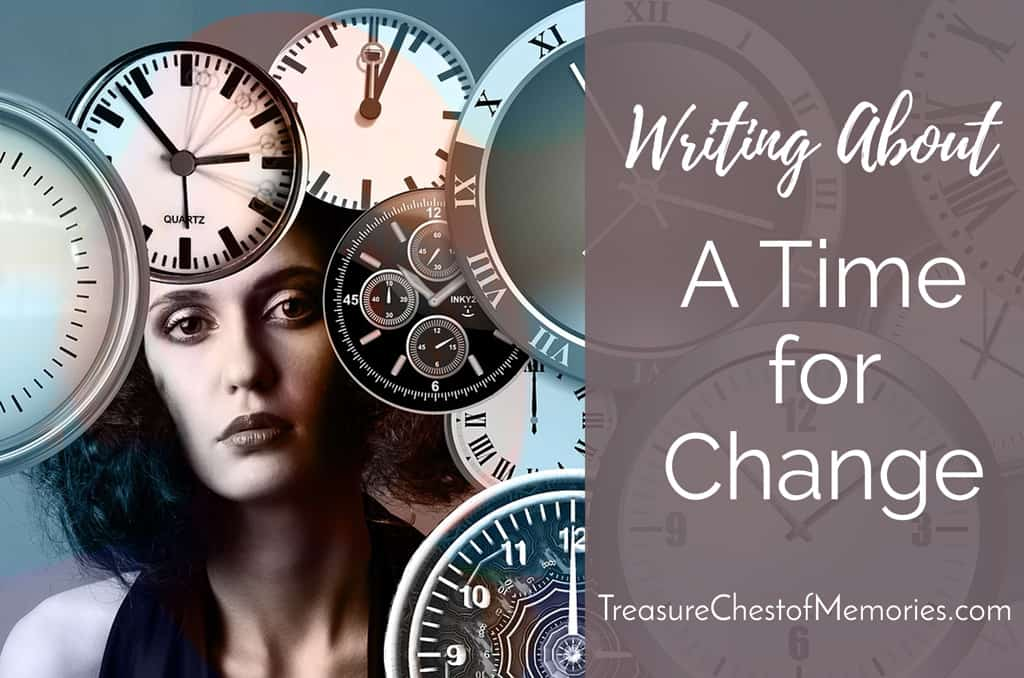 Writing about a Time for Change