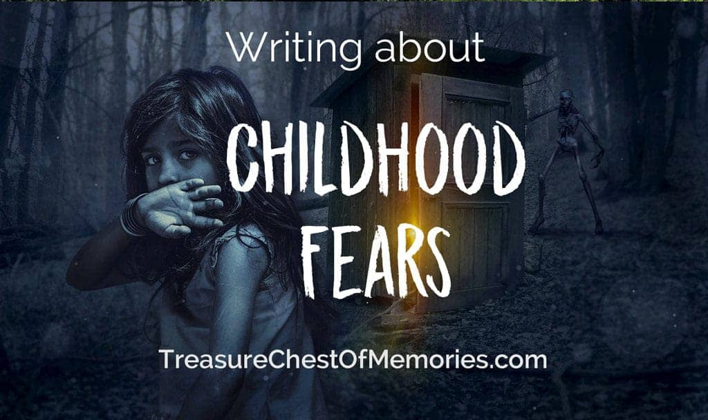 Writing about Childhood Fears Graphic
