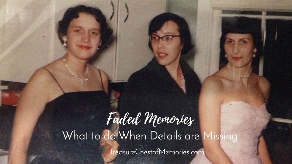faded memories of sisters