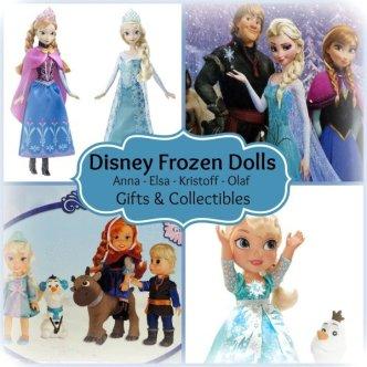 disney frozen dolls anna elsa kristoff olaf
