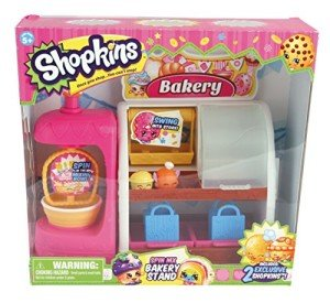 Shopkins Toys Bakery Play Set