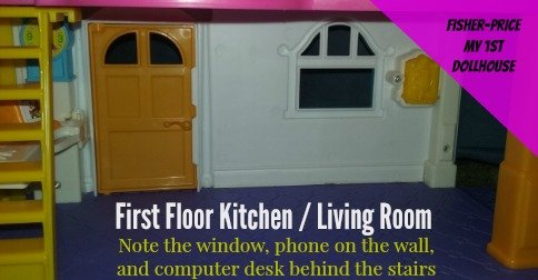 Fisher Price My First Dollhouse - 1st floor