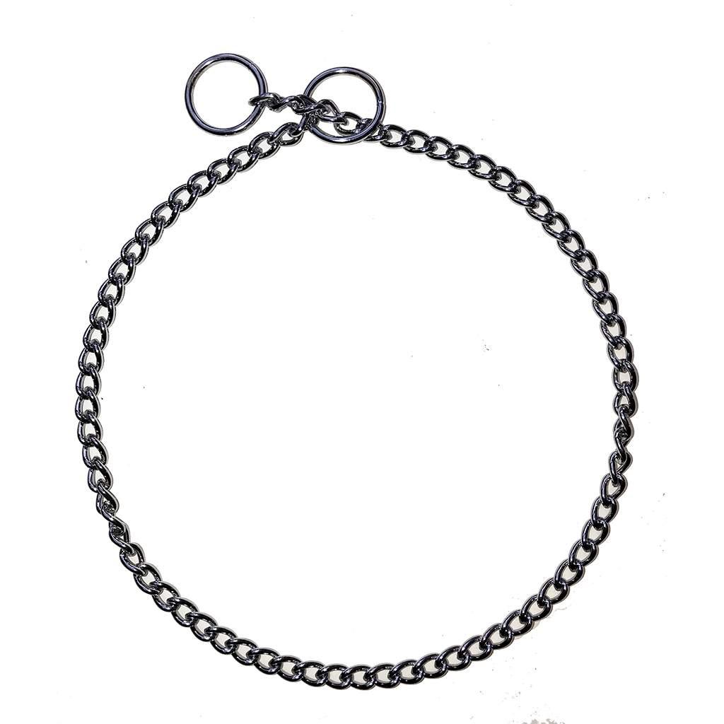 Show Chain Jewller's Link Choke Collars 1.6mm (fine)