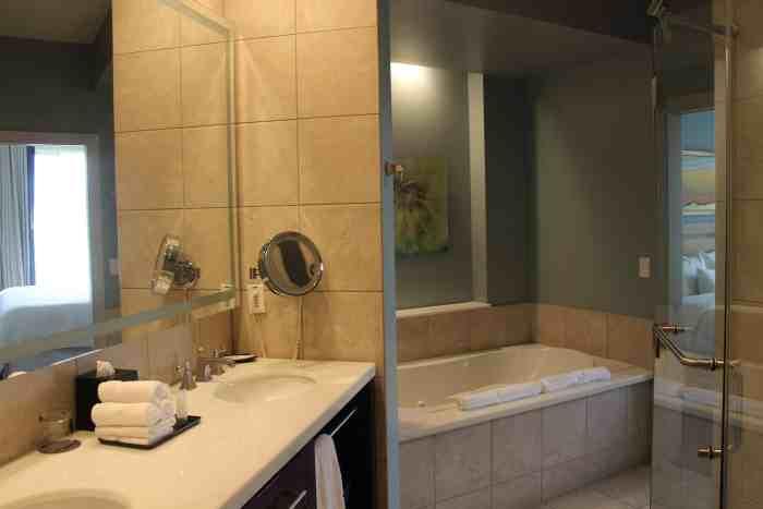 Bathroom in the Westin Kierland one-bedroom villa