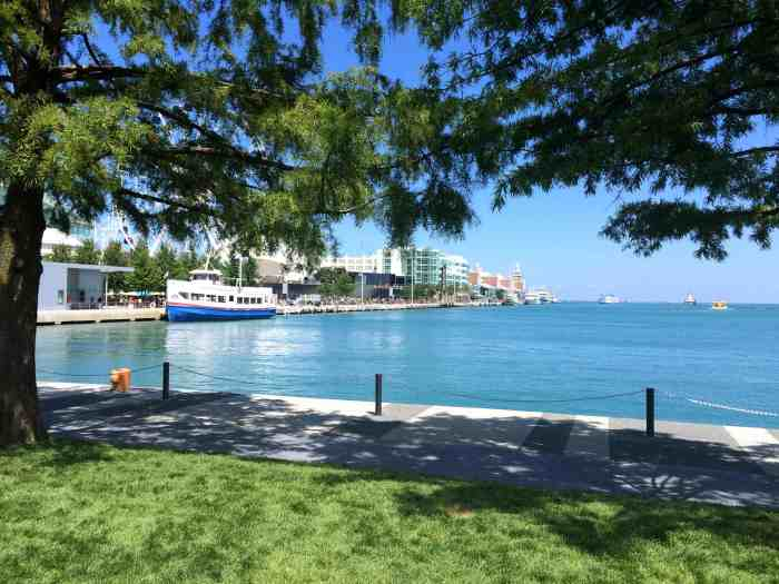 Things to do in Chicago with kids - Enjoy Navy Pier and take a stroll along the waterfront