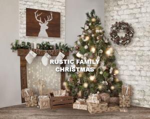 Rustic Christmas Family*