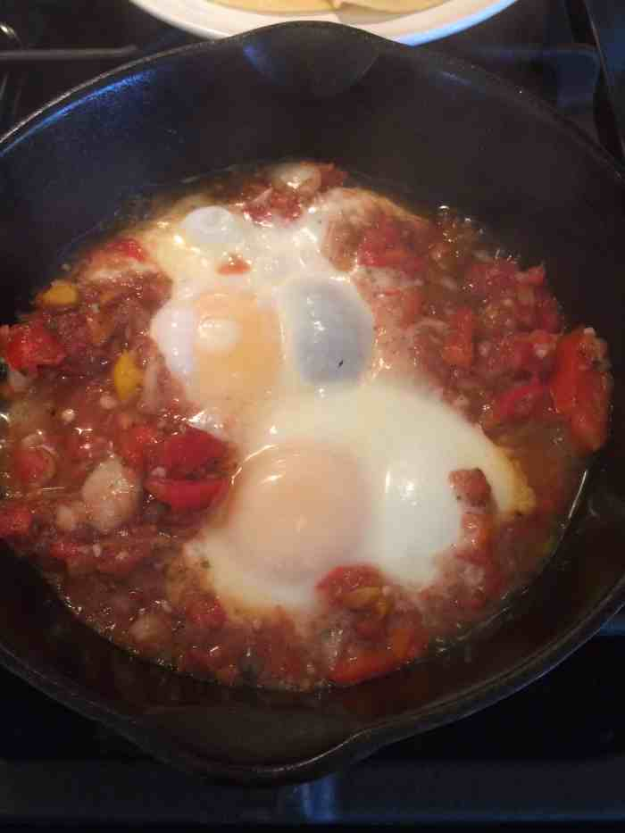 Mexican Poached Eggs. This delicious recipe is quick, frugal and gluten-free.