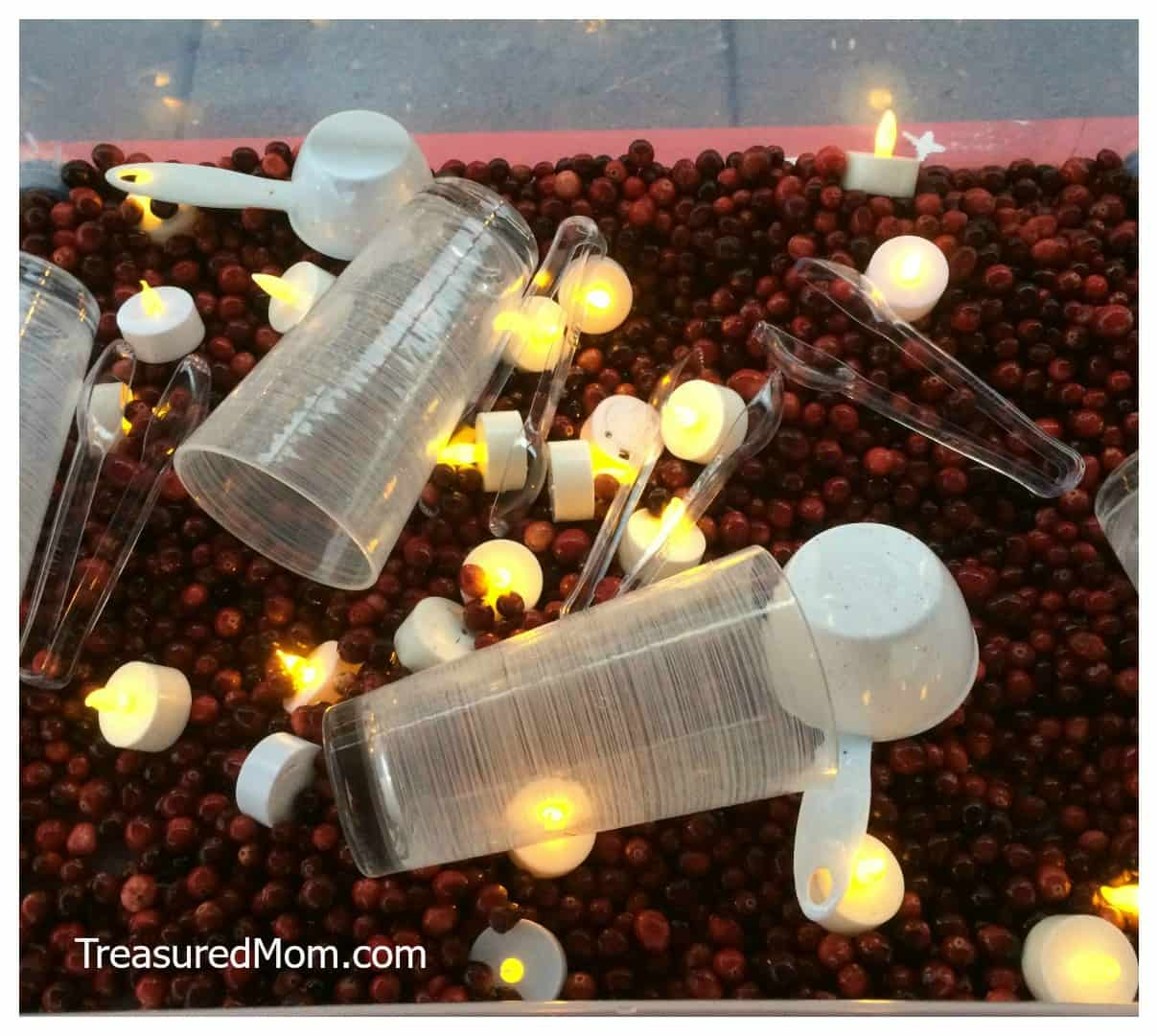 These Sensory Tables will provide tons of fun for kids of all ages and are a great addition to your holiday party.