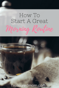 woman having coffee for how to start a great morning routine