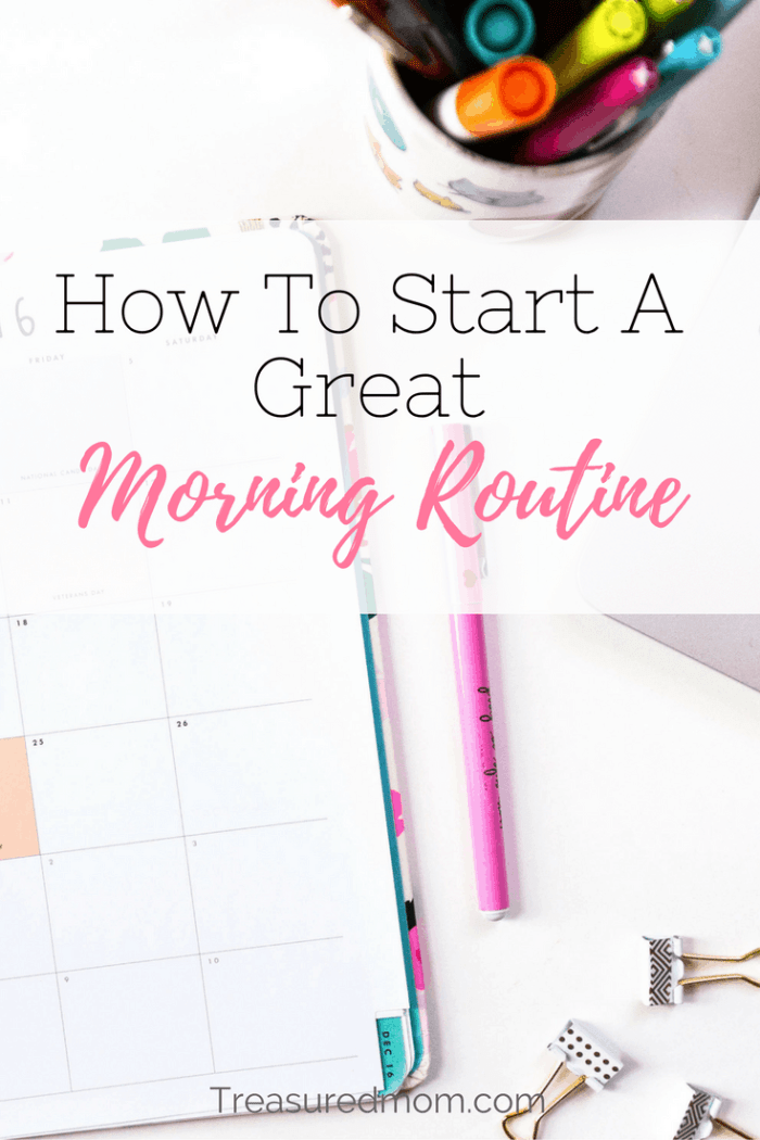 Are your mornings a wreck? Read here to discover how to set up a Great Morning Routine to start your day right. Download the Free Checklist ...