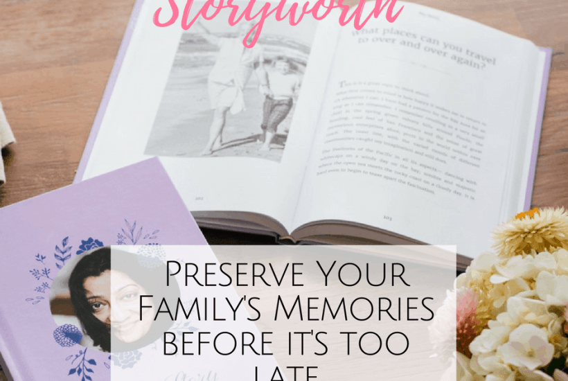 Looking for a last minute Mother's Day Gift? Storyworth creates a beautiful keepsake to preserve your family's memories. Great Storyworth review.