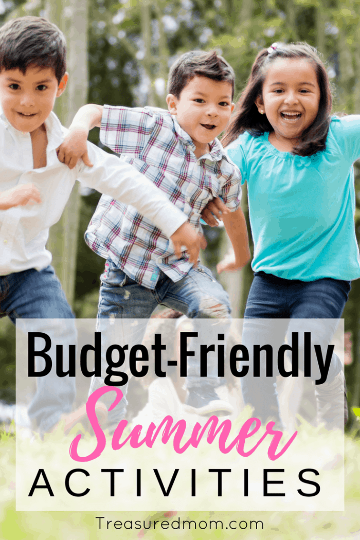 Awesome ideas for Cheap Summer Activities. Read this to get budget-friendly tips for cheap summer fun.