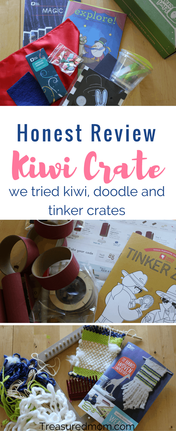 Have you tried Kiwi Co yet? Looking for an honest Kiwi Co Review? Look at all the fun our family is having with Kiwi Crate, Doodle Crate, and Tinker Crate. These are great fun family activities. Great birthday gifts or Christmas gifts.