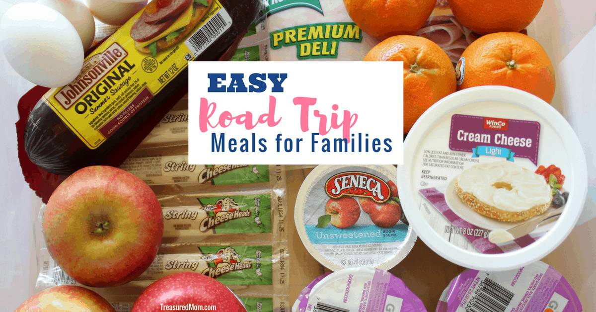 Easy Road Trip Meal Ideas For Families