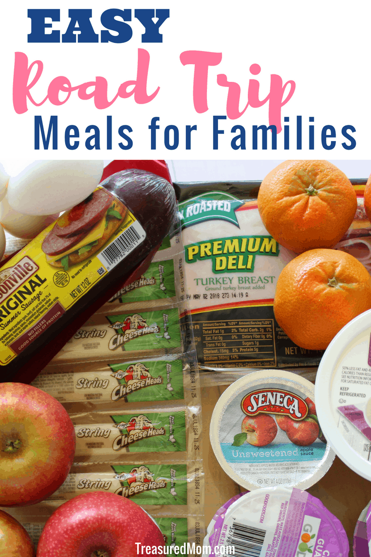 Using these easy road trip meals is a great way for families to save money.  There are so many ideas here that will help you know what to pack to feed your kids and even the adults when you travel.