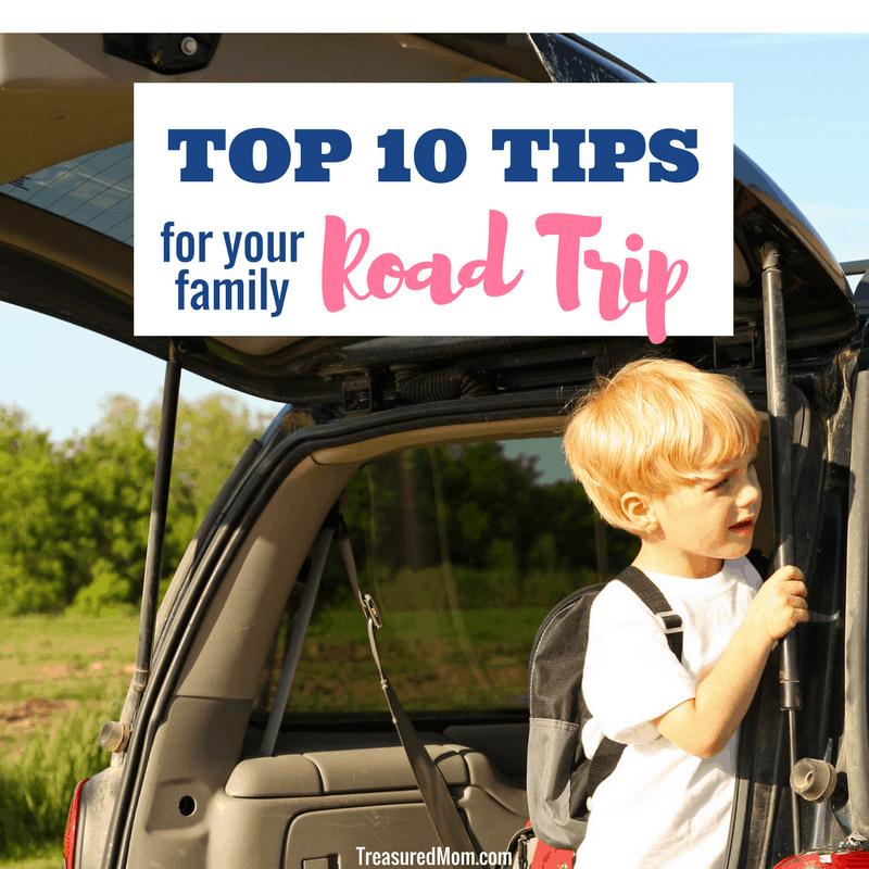 Family Road Trip Top 10 Tips, boy in back of van