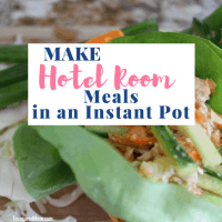 Instant Pot Hotel Room Meals - Save Your Travel Budget