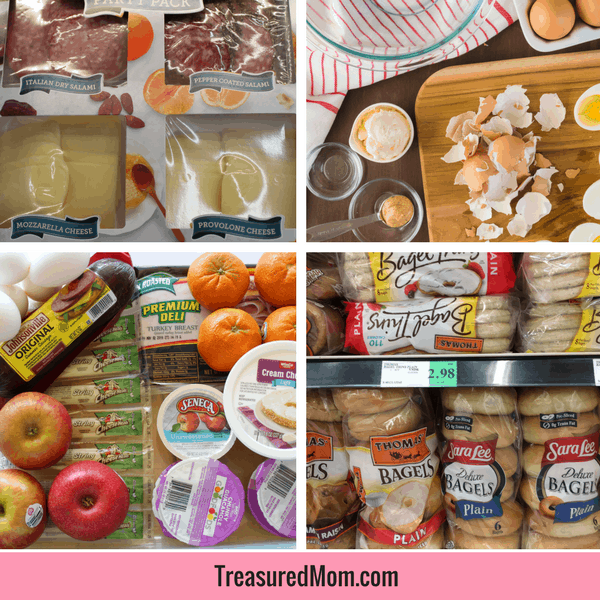 Easy Road Trip Meals for Families, lunches