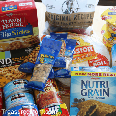 Road Trip Tips, snacks