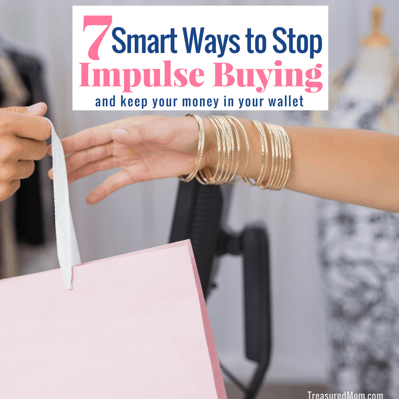 Ways to Stop Impulse Buying, woman grabbing shopping bag