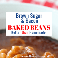 Easy Brown Sugar and Bacon Baked Beans