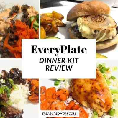 hamburger, sriracha meatballs, sweet chili chicken, fajitas for Everyplate review