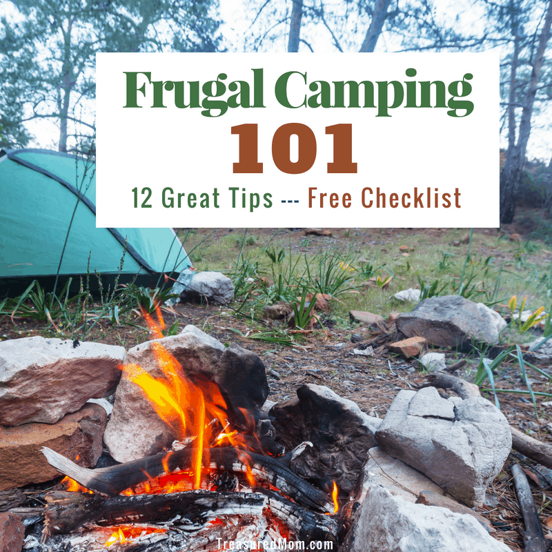 Tent And Campfire For Frugal Camping Families Post