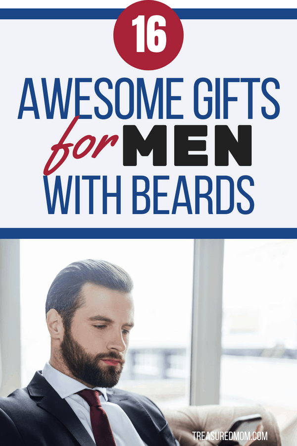 Does your man have everything? Whether you're shopping for your boyfriend, husband, dad, brother or any of the other men in your life, you'll find something unique for them here.  Gifts for men with beards are unique, useful, practical, and thoughtful. All men have whiskers.
