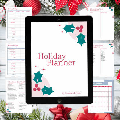 FREE Holiday Planner Planning Pages