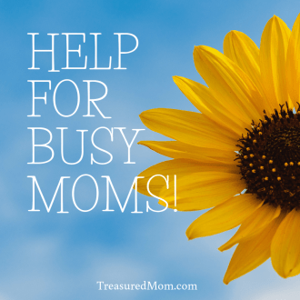 Sunflower and clouds help for busy moms
