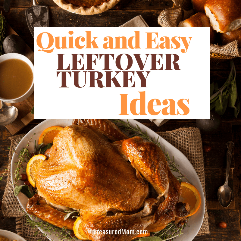 Quick and Easy Leftover Turkey Ideas picture of thanksgiving dinner