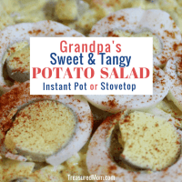 Grandpa's Sweet and Tangy Potato Salad