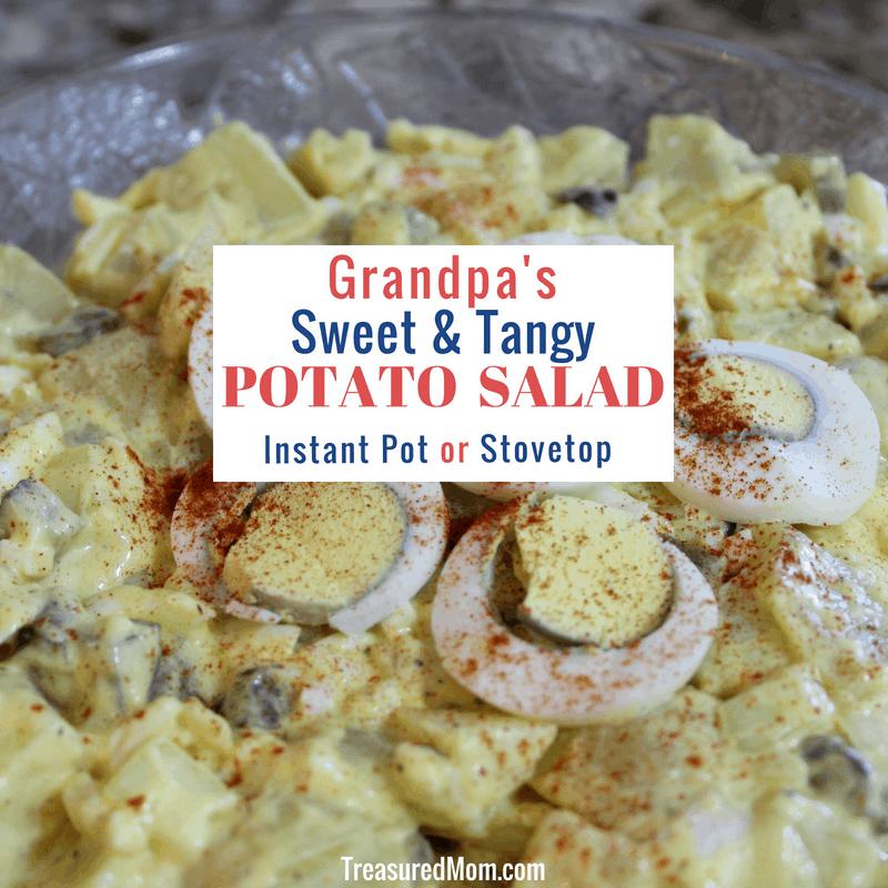 Sweet & Tangy Potato Salad