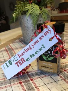 Free printable gift tags for DIY Simple Teacher Gifts under $5