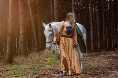 Don´t stop believing in fairytales. Model Nicola